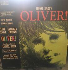 Lionel Bart's OLIVER 1962 Original Broadway Cast Recording LP Vinyl Record RCA
