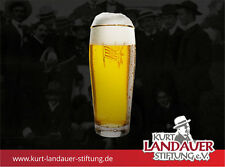 Bierglas FC Bayern - Kurt Landauer Stiftung 0,5 Liter - Clemensplatz