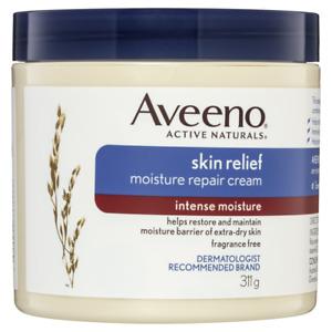 Aveeno Skin Relief Moisture Repair Cream 311g Intense Moisture Fragrance Free