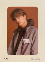 [KAI] 2021 EXO SEASONS GREETINGS PRE-ORDER BENEFIT OFFICIAL PHOTO CARD
