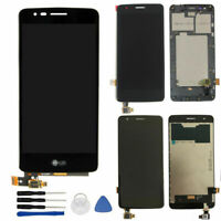 For LG K8 2017 Dual SIM X240 LCD Display Touch Screen Digitizer Assembly w/Frame