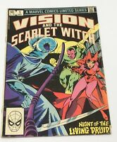 Vision and the Scarlet Witch # 1 Marvel Comic Book 1982 Infinity War Bronze Age