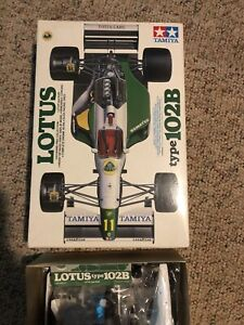 Tamiya 1/20 Lotus 102b. All Parts Sealed.