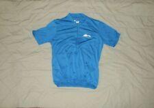 Mens Blue Cycling Bicycle Jersey Shirt Size M-Nashbar