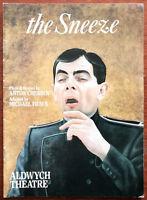 The Sneeze by Anton Chekhov / Michael Frayn, Aldwych Theatre Programme 1990's