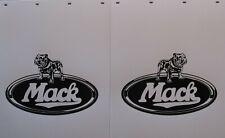 """WHITE POLY """"MACK"""" 24""""x30"""" MUD FLAPS  - PAIR"""