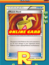 2x Muscle Band for Pokemon TCG Online ( DIGITAL ptcgo in Game Card)
