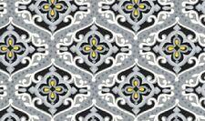 Sundance Gray Damask Geometric Quilt Fabric by 1/2 yard 783-85