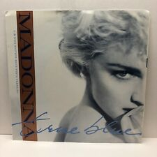 "1986 TRUE BLUE by Madonna 45 RPM 7"" Single; Ltd Edition Blue Vinyl; Never played"