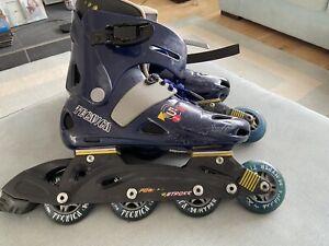 Inline Roller Skates Blue Size 6