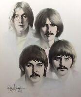 Beatles Painting by Gary Saderup