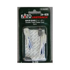 NEW KATO UNITRACK 24-828 DOUBLE TRACK POWER LEADS