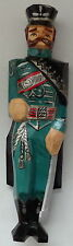 Russian  SOVIETMADE hand carved painted wooden CHRISTMAS ornament SOLDIER  6*