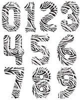 "34"" Zebra Print Number Balloons Happy Birthday Anniversary New Years Party Decor"