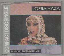 "ofra haza- im ninálu  rare 3""cd   made in holland"