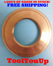 M75 X 1 Metric Thread Ring Gage 750 10 Quality Machinist Tooling Inspection