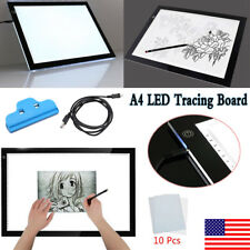LED Tracing Board Light Pad Box Artist Tattoo Drawing Working Sketch Display A4