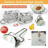 Set Of Dumpling Mould Maker Stainless Steel Dough Presser Kitchen Gadget Tools