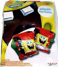 SpongeBob Swimming Floaties Inflatable Arm Floaties