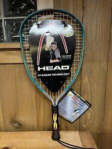 Head Racquetball Racquet Ti.Flame XL Suday Monchik Vtg 2000 New