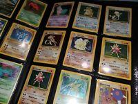 Random 100 Vintage & Recent Pokemon Card Lot (Guaranteed 5 Holo) Nintendo WOTC