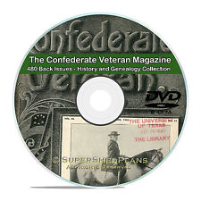 The Confederate Veteran Magazine- 480 issues Civil War Soldiers History DVD V83