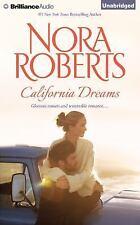CALIFORNIA DREAMS unabridged audio book on CD by NORA ROBERTS