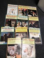 Vintage 1978 Stereo Review Magazines Lot Of 11 Almost Complete Year