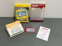 Famicom Mini Series Nintendo GameBoy Advance Super Mario - JAPANESE PRODUCT
