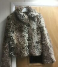 Peter Golding London Ladies  Faux Fur Jacke5 Size 8