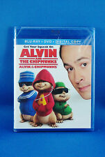 Alvin And The Chipmunks Blu-ray Disc Brand New Sealed