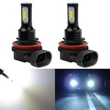 H11 H8 H9 160W LED Fog Light Bulbs Car Driving Lamp DRL 2400LM 6500K HID White