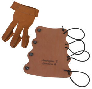 American Leathers Little Shot Children's Glove/Armguard Combo