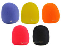 5 Pack Microphone Windscreen Foam Mic Cover Karaoke Assorted Colors High Quality