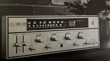 KLH Receiver Model 51 Sales Brochure Original 1970s Rare VHTF Hi Fi Audiophile