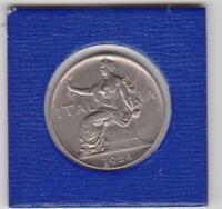 1 Lira Italien 1924 Siegesgöttin Italy