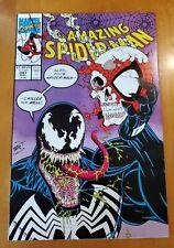 1991 MARVEL COMICS THE AMAZING SPIDER-MAN #347 VENOM COVER ERIK LARSEN ART NM-