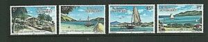 GRENADINES OF ST. VINCENT 1977 - CANOUAN ISLAND Set of 4 - SG 106 to 109 -  MNH