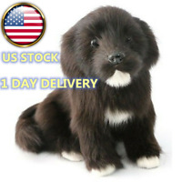 Realistic Simulation Labrador Cute Hairy Dog Toy Doll Animal Model Gift