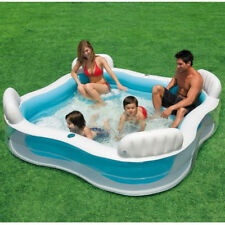 NEW Intex Inflatable Family Lounge Pool Ball Pit  & Seat 229x229x66 cm #56475
