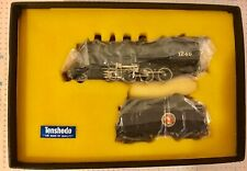 TENSHODO HO SCALE BRASS GREAT NORTHERN 2-8-0 LOCOMOTIVE & TENDER COMPLETE LNIB