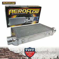 "Aeroflow 450x300x76 Alloy Intercooler Polished with 3"" Inlet Outlet AF90-1001"