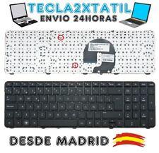 teclado para portatil HP PAVILION dv7-4150si español negro con marco