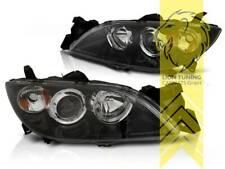 Design Scheinwerfer für Mazda 3 schwarz Xenon für Halogen