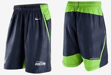 NWT Men S Nike NFL OnField Seattle Seahawks Fly XL 3.0 DriFit Training Shorts
