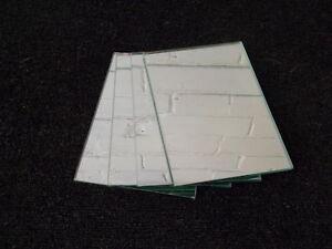 Rectangle Mirror Tiles - 15x20cm, 10x15cm, 6x22cm, 6x11cm - Quality New Mirrors