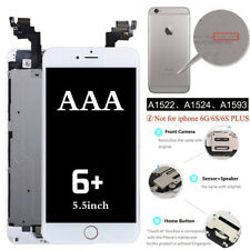 5.5'' For Apple iPhone 6 Plus Complete Touch Screen LCD Digitizer White + Button
