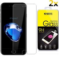 [2-Pack] KHAOS For Apple iPhone 7 Premium Tempered Glass Screen Protector