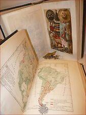 ANTROPOLOGIA - RATZEL Lessona: LE RAZZE UMANE 2 volumi 1909 UTET TAVOLE a COLORI