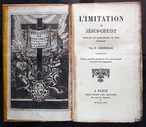 [B2618] Corneille, Imitation de Jésus-Christ